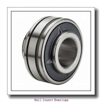 38,1 mm x 80 mm x 42,86 mm  Timken 1108KRR Ball Insert Bearings