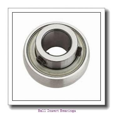 30 mm x 62 mm x 36,51 mm  Timken GE30KRRB Ball Insert Bearings